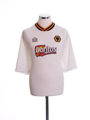 2002-03 Wolves Away Shirt XL