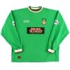 2002-03 Wrexham Match Issue Third Shirt Barrett #12 L/S XL