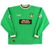 2002-03 Wrexham TFG Match Issue Third Shirt Barrett #12 L/S XL