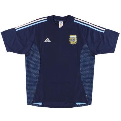 2002-04 Argentina adidas Away Shirt  L