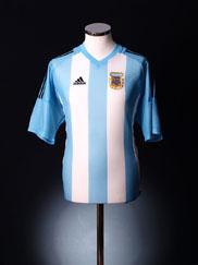 2002-04 Argentina Home Shirt XXL