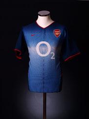 2002-04 Arsenal Away Shirt L