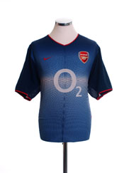 2002-04 Arsenal Away Shirt S
