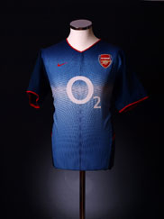 2002-04 Arsenal Away Shirt XL