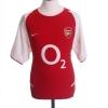 2002-04 Arsenal Home Shirt Henry #14 XL.Boys