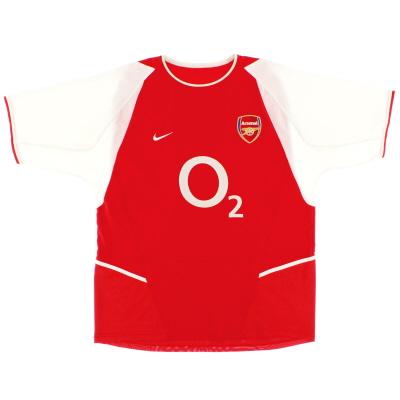 2002-04 Arsenal Home Shirt M.Boys