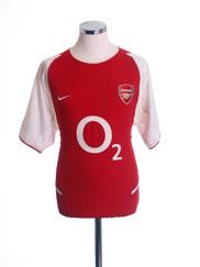 2002-04 Arsenal Home Shirt M
