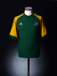 2002-04 Australia Home Shirt M