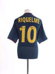 2002-04 Barcelona Away Shirt Riquelme #10 *BNWT* L