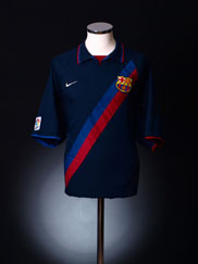 2002-04 Barcelona Away Shirt *Mint* M