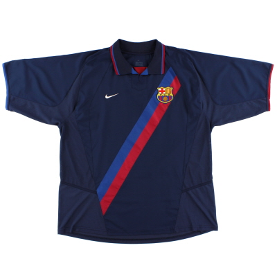 2002-04 Barcelona Nike Away Shirt *Mint* L