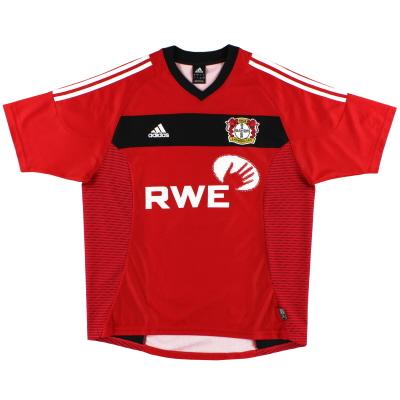 2002-04 Bayer Leverkusen Home Shirt XL.Boys
