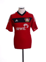 2002-04 Bayer Leverkusen Home Shirt #9 M