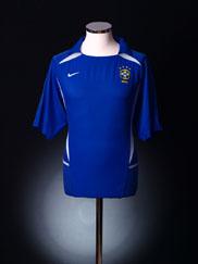 2002-04 Brazil Away Shirt L