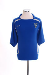 2002-04 Brazil Away Shirt XL