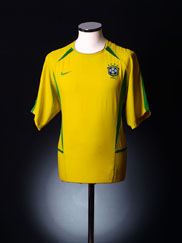 2002-04 Brazil Home Shirt *BNWT* XL