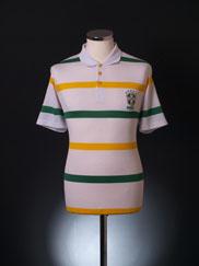 2002-04 Brazil Polo Shirt S