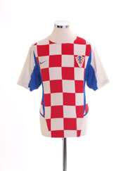 2002-04 Croatia Home Shirt S