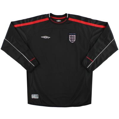 2002-04 England Umbro Goalkeeper Shirt *Mint* L