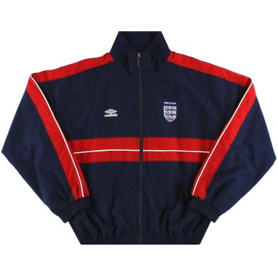 2002-04 England Umbro Track Jacket M