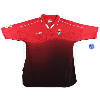 2002-04 Espanyol Away Shirt *BNWT* XXL