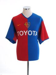 2002-04 FC Basel Home Shirt L