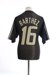 2002-04 France Goalkeeper Shirt Barthez #16 L