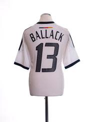 2002-04 Germany Home Shirt Ballack #13 *Mint* M
