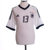 2002-04 Germany Home Shirt Ballack #13 M