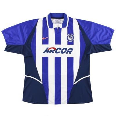2002-04 Hertha Berlin Nike Home Shirt XXL