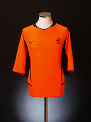 2002-04 Holland Home Shirt S