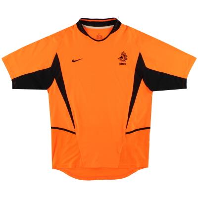 2002-04 Holland Nike Home Shirt M.Boys