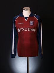 2002-04 Ipswich Away Shirt L/S M