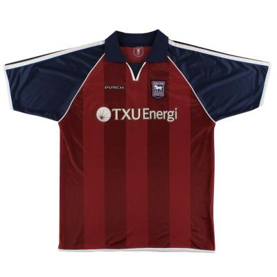2002-04 Ipswich Away Shirt *Mint* XL