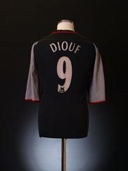 2002-04 Liverpool Away Shirt Diouf #9 L