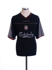 2002-04 Liverpool Away Shirt L