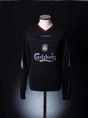 2002-04 Liverpool Away Shirt L/S M