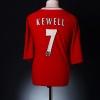 2002-04 Liverpool Home Shirt Cheyrou #28 S