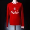 2002-04 Liverpool Home Shirt Murphy #13 L/S *Mint* M