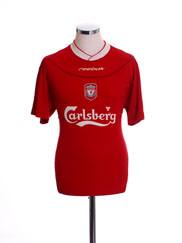 2002-04 Liverpool Home Shirt S