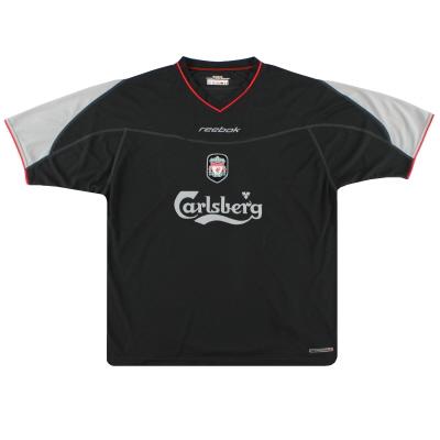 2002-04 Liverpool Reebok Away Shirt Women's 12