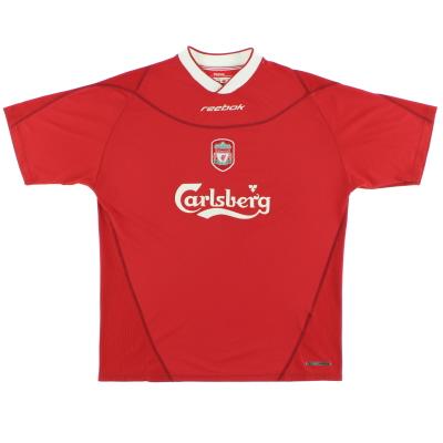 2002-04 Liverpool Reebok Home Shirt *Mint* M