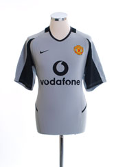 2002-04 Manchester United Nike Goalkeeper Shirt S