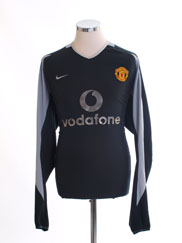 2002-04 Manchester United Goalkeeper Shirt L