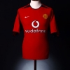 2002-04 Manchester United Home Shirt Keane #16 XL.Boys