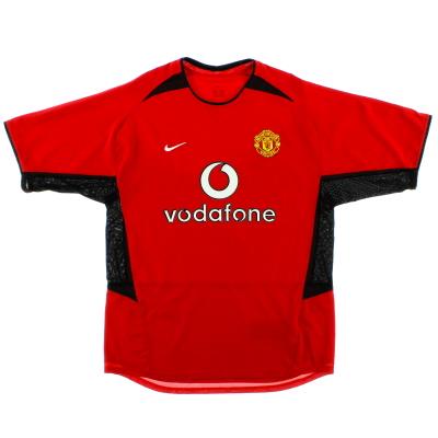2002-04 Manchester United Home Shirt Keane #16 XXL