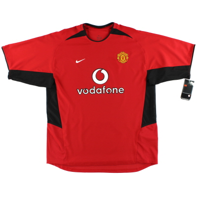 2002-04 Manchester United Nike Home Shirt *w/tags* XL
