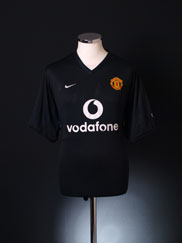 2002-04 Manchester United Training Shirt L