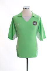 2002-04 Nigeria Home Shirt L
