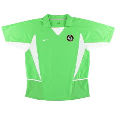 2002-04 Nigeria Home Shirt XL
